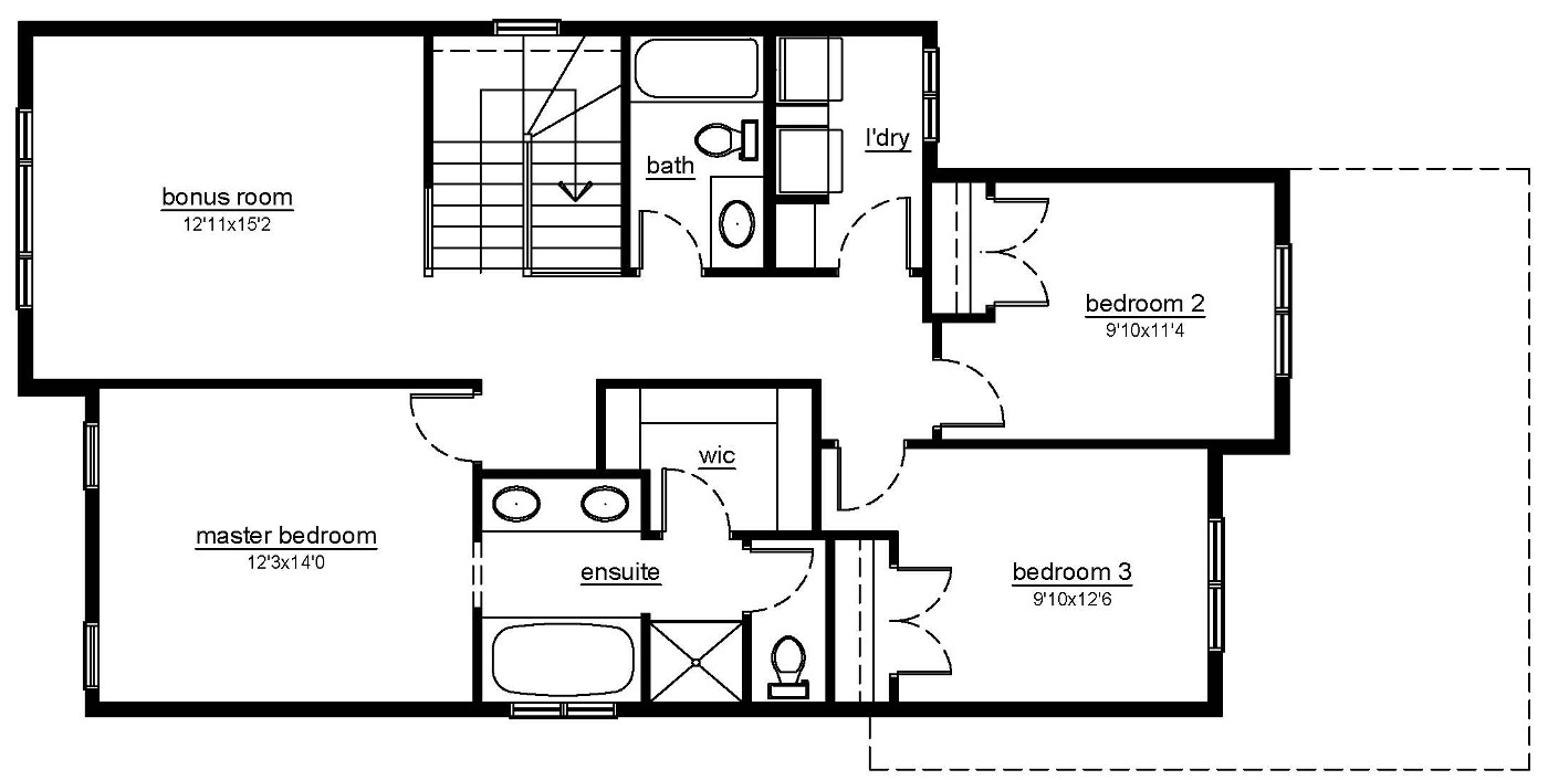 The Beechwood - 2nd floor plans