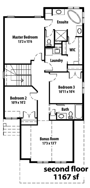 The Cottswood - 2nd floor plans