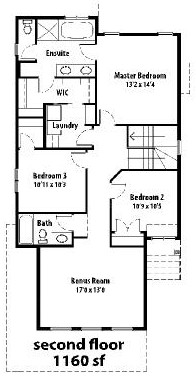 The Cottswood II - 2nd floor plans